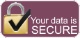 Your data is secure